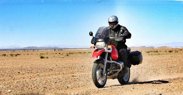 Europa på  motorcykel