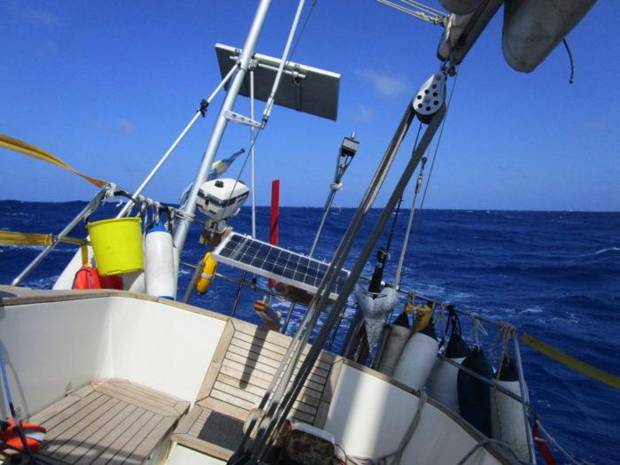 Kuling og vindstille på Atlanten