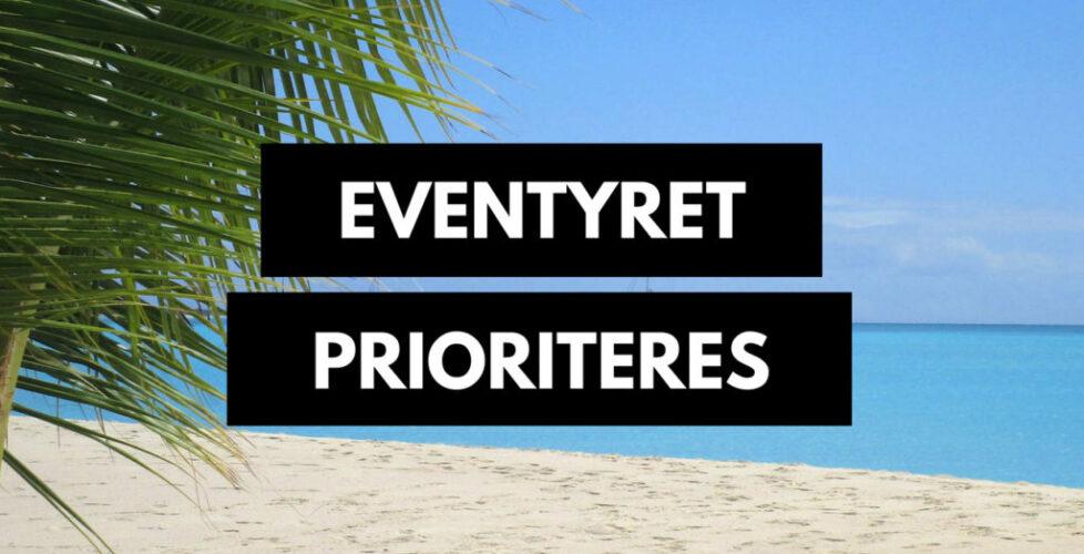 Eventyret prioriteres